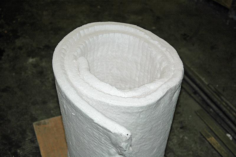 Keramikfasermatte Lindenschmiede
